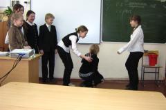 Открытый урок в Мариинской гимназии
